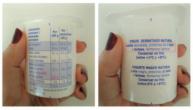 ingredientes leche
