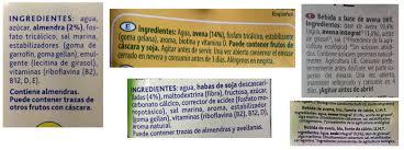 ingredientes bebida veg3